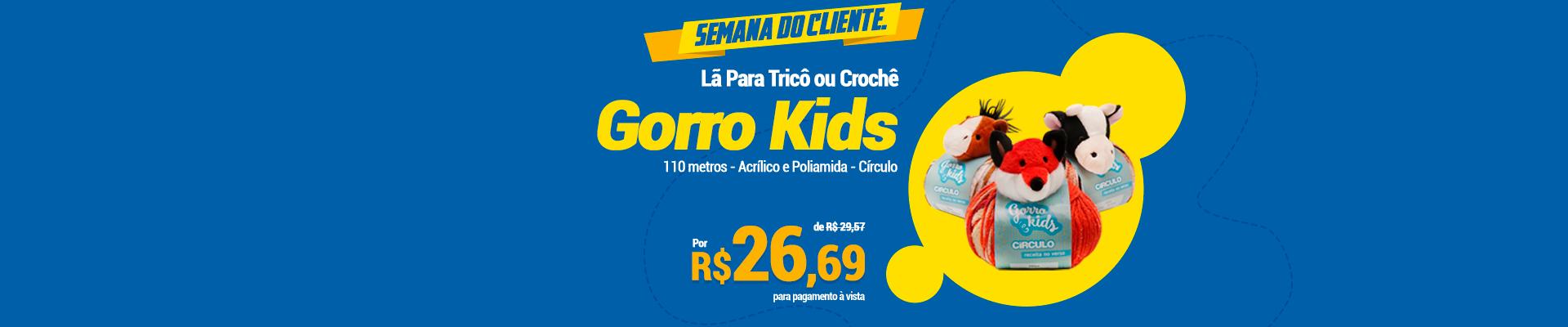 Semana Cliente Gorro Kids Circulo